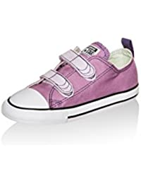 Converse - Converse all star CT OX Zapatos Niña Lila Tejido 342375 - Violeta, 27