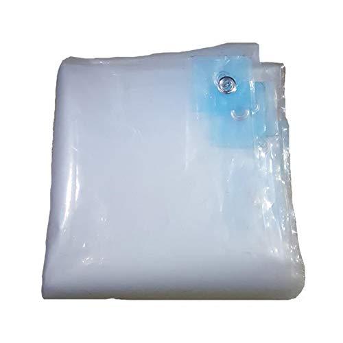 Yang Transparente Tela Impermeable Lona Tela De Plastico Lona Balcón De Lona Lona De Membrana Espesar Tela Tela Aislante 2X3m - Opciones de tamaño múltiple (Tamaño : 2X2m)