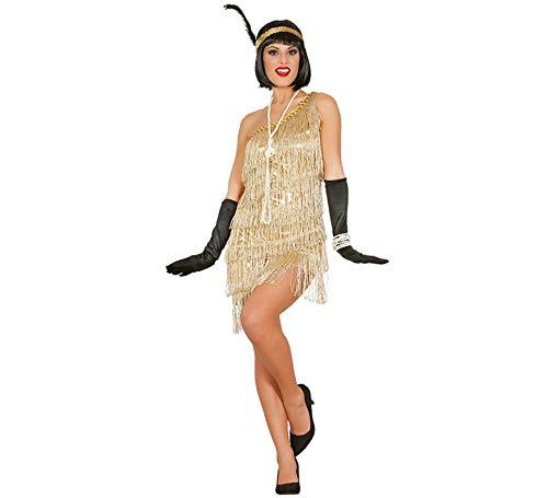 Costume da ballerina di charleston anni 20 taglia m