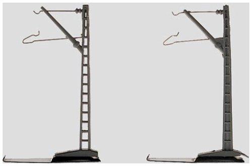 Märklin Z Mini-Club 8911 - Oberleitung Mast für Fahrleitung, 10er-Set