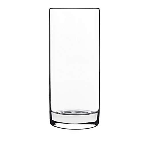 Luigi Bormioli Set of 4 Classico Tall Beverage Glasses, One Size by Luigi Bormioli Vintage Pilsner Set