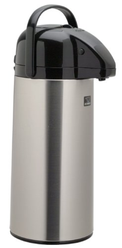 Zojirushi Air Pot Brushed Stainless Steel Beverage Dispenser, 74 Ounce by Zojirushi