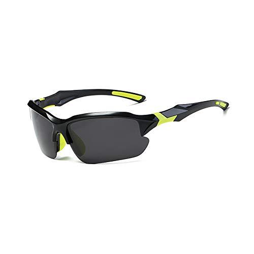 Sonnenbrillen Polarisierte Männer UV-Schutz Reitbrillen Fliegerbrille Coole Brille Sonnenbrille Herren Clip Sunglasses Verspiegelt Outdoor Reiten Sport Fahren Tourismus Gelbe Brillenbeine