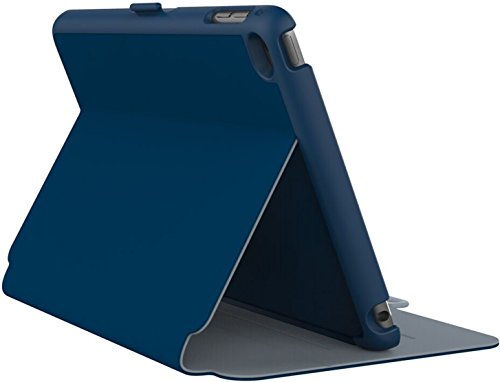 Speck Folio Hülle Case Cover für iPad Mini 4 Deep Sea Blue/Slate Grey - Tiefsee Blau/Schiefergrau Ipad Mini Speck Folio