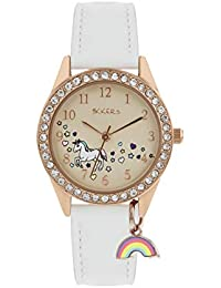 TIKKERS Unicorn Rainbow Charm Watch - NTK0018