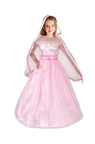 Barbie Deluxe Kostüm - Ciao Barbie Ballmagie (Deluxe Collector's Edition) Kostüm für Kinder, 5-7 Jahre, Rosa, 11661.5-7