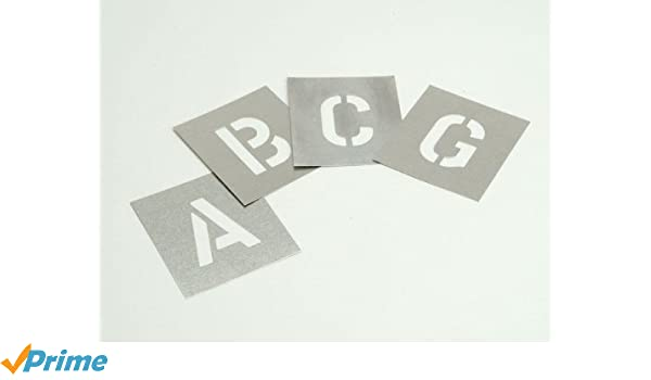 pochoir de sol artisanat p/âtisserie Chiffres et symboles Set de pochoirs de chiffres Peinture Hauteur de chiffres 5,1cm 8.5 x 10cm Pochoir r/éutilisable meubles mur adapt/é aux enfants