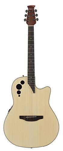 Ovation Applause Guitarra Electro-Acústica Mid Cutaway natural AE44II-4