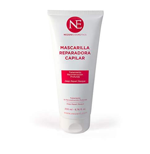 La Mascarilla Reparadora Capilar de Nezeni Cosmetics S.L. produce una reparación y ultra-hidratación de efecto inmediata. Incluso en los cabellos más difíciles y dañados. Si se prolonga su aplicación, se multiplican los resultados. SIN SULFATOS SIN S...