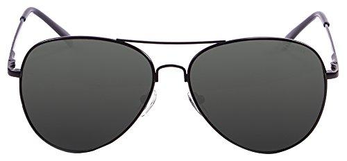 Ocean Eye Montures de lunettes, Noir (Nero/Grigio), 58 Mixte Adulte