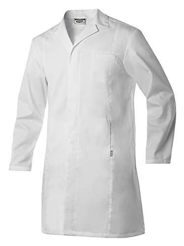 Bata De Médico para Hombre. Bata De Doctor para Hospital Y Clínica. Color Blanco. Talla M. Ref: 4616...