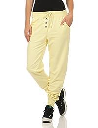 624efad1c8df17 Malito Damen Jogginghose im Classic Look | Sporthose in Unifarben | Baggy  zum Tanzen | Sweatpants - Trainingshose…