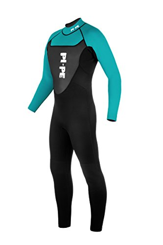 PI-PE Herren Neoprenanzug Active Full Long Sleeve, Cyan, L, PNA-2-CY