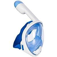 Lidaway Immersione Mask Snorkel Set facciale Maschera di respirazione boccaglio con Anti-Fog e Anti-perdite Tecnologia Adatta per Tutti Nuotare i neofiti e Gli Amanti delle Immersioni