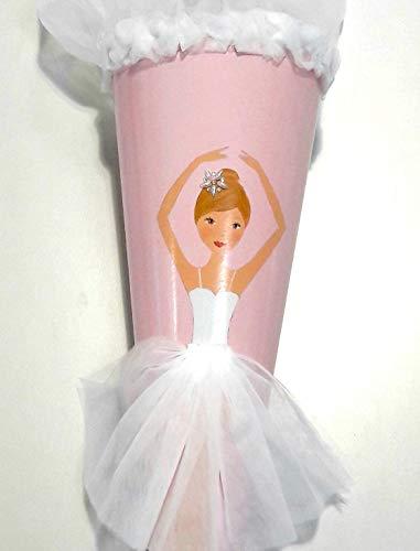 ZIEGFELD Schultüte Prinzessin Ballerina Rosalie - Tüll-mädchen-prinzessin-ballerina-tutu