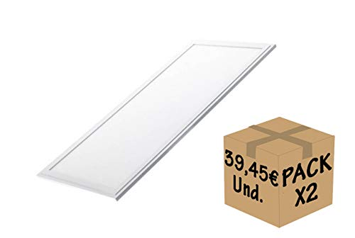 FactorLED Pack 2x Panel LED 120x30 cm 45W