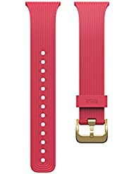 Fitbit Blaze Slim Classic Accessory Band, Pink, Small