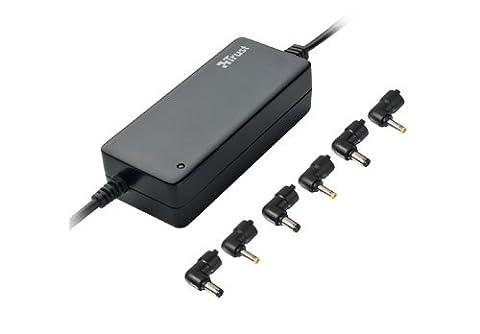Trust 65W Netbook Netzteil, universell, kompakt, 230V Wandanschluss, schwarz