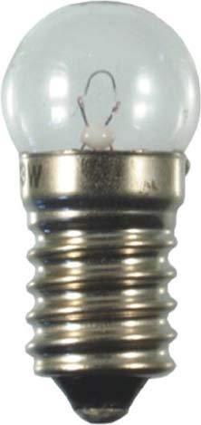 Scharnberger+Has. Kugellampe 18x40mm 24906 E14 12V 250mA 3W Anzeige- und Signallampe 4034451249066
