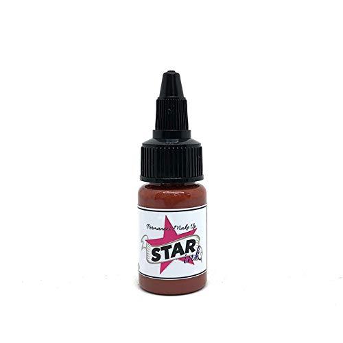 STARINKMAKEUP USA Brown Lip 0 5oz (15ml) Insieme permanente dell'inchiostro  del tatuaggio di trucco del sopracciglio di Microblading della pittura del