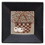 Heart of America Berry Basket & Sheep Plate
