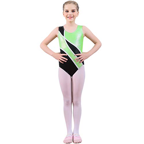 stik Tanz Outfit Mädchen Ballett Dancewear 2-10 Jahre Leistung Kind Kleidung Grün ()