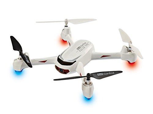 *Revell Control RC GPS Quadrocopter mit FPV HD-Kamera, ferngesteuert mit GHz Fernsteuerung mit Display für Live-Stream & Telemetrie-Daten, Follow-me, Coming-home, leicht zu fliegen – PULSE FPV 23875*