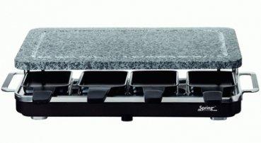 SPRING Raclette 8 sw. 6761.02 Stein 6761.02 schwarz 327574