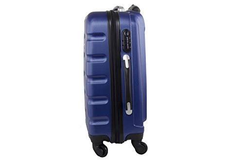 315BwttrF7L - Maleta rígida PIERRE CARDIN azul mini equipaje de mano ryanair S210