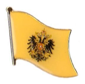 Flaggen Pin Österreich Ungarn Adler Fahne Flagge Anstecknadel