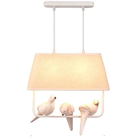 Vashti lámpara colgante/Tubo de luz/lámpara de techo/Americanas esstischlampe/Plafón/proyección cuerda hängel lámpara araña techo Nordic Pájaros