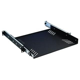Adam Hall 19 inch Rack Cradle 1 U with Drawer Slides