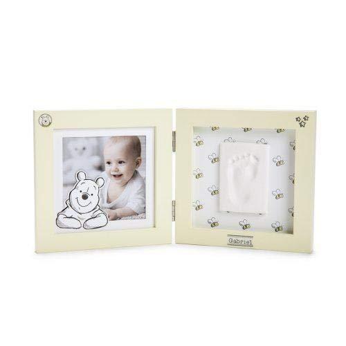 Disney Baby Kits de Moulage/Empreinte Motif Winnie Forme Cadre Jaune Taille Unique