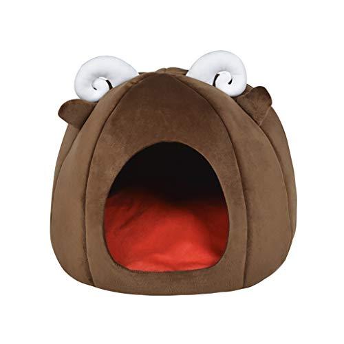 OGGID Cama Gato Perro Casa Mascota Cueva Animales