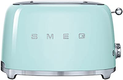 Smeg TSF01PGEU - Tostador (220 - 240 V, 50/60 Hz, 147 x 36 x 110 mm)