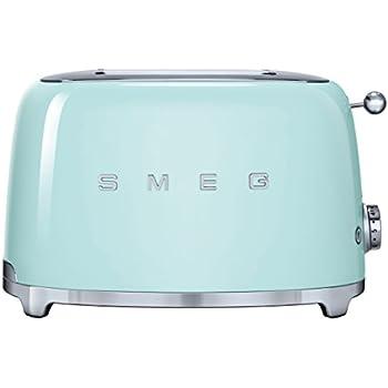 Smeg TSF01PGEU toaster - toasters (220 - 240 V, 50/60 Hz, 147 x 36 x 110 mm)