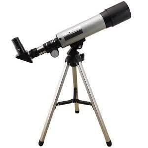 GOSFRID with GF LOGO Astronomical Monocular Telescope (Silver and Grey)
