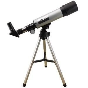 Petric Advance Land & Sky Monocular Refractor Telescope Kit With Tripod, Optical Glass Lens And Metal Tube