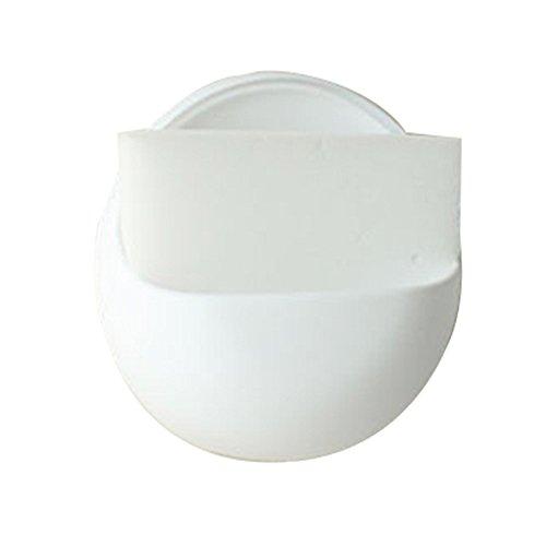 Kunststoff Saugnapf Seife Zahnbürste Box Geschirrhalter Küchenregal Schwamm Rack Bad Dusche Zubehör Seifenhalter Badkorb White