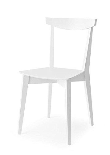 Calligaris Connubia Set 2 Stühle Evergreen CB/1139 lackiert Taupe matt
