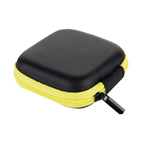 Aufbewahrungsboxen,Rifuli® Mini Reißverschluss Hartleder Kopfhörer Aufbewahrungstasche Kopfhörer Beutel Box Möbel Gartenmöbel Zubehör Abdeckhauben Hüllen Kissen