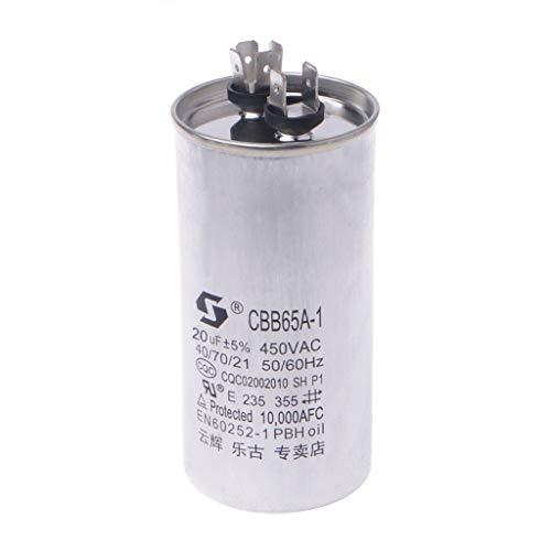 LLAni 20-50uF CBB65 450V AC 50/60HZ - Condensatore di avviamento compressore 20uf