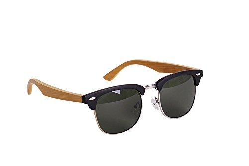 Helio Ferretti Herren Sonnenbrille, schwarz