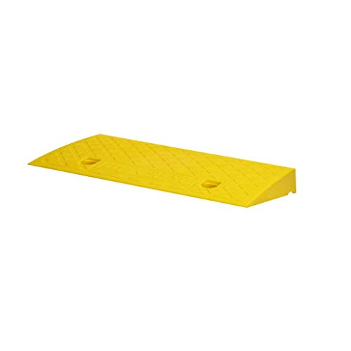 jinclonder Slope Pad Rubber Threshold Kerb Ramp Portable Lightweight Step Wheelchair Ramps Plastic Curb Ramps Heavy Duty Plastic Slope Pad For Driveway Car Truck Car,motorcycle,etc