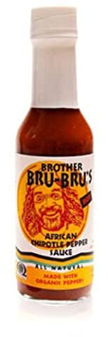 Brother Bru Bru's Organic African Chipotle Pepper Sauce Brother Bru Bru 5 oz Liq by Brother Bru Bru