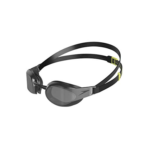 Fastskin 3 Elite Mirror Schwimmbrille, Schwarz/Dunkles Chrom, One size