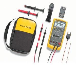 Multimètre numérique Fluke 87-5/E2 Kit CAT III 1000 V, CAT IV 600 V Affichage (nombre de points):20000