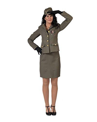 Kostüm Offiziersdame - Pierro´s Kostüm Offiziersdame Nessa Damenkostüm Größe