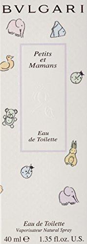 Bvlgari Petits Et Mamans Eau de Toilette 40 ml, 1er Pack (1 x 40 ml)