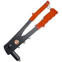 MC-2025 Remachadora Manual muy potente, de dos brazos de palanca robusta y para boquilla hasta 4,8 mm
